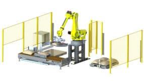 CPV-10 Robot Palletizer Complete Line
